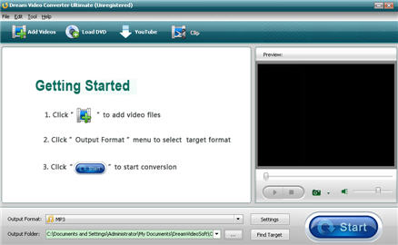 Dream WMV Converter