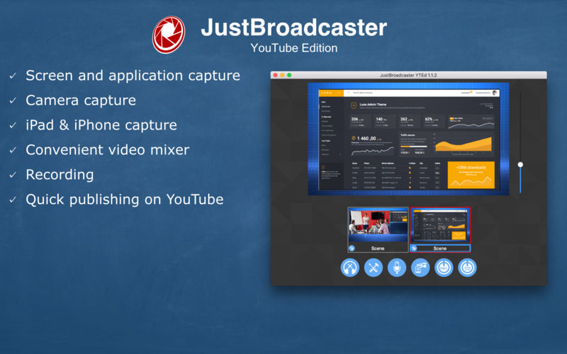JustBroadcaster for YouTube 1.8 破解版