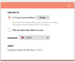 Free YouTube to MP3 Converter(FLV转MP3转换器)