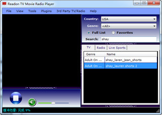 Readon TV Movie Radio Player卫星电视直播