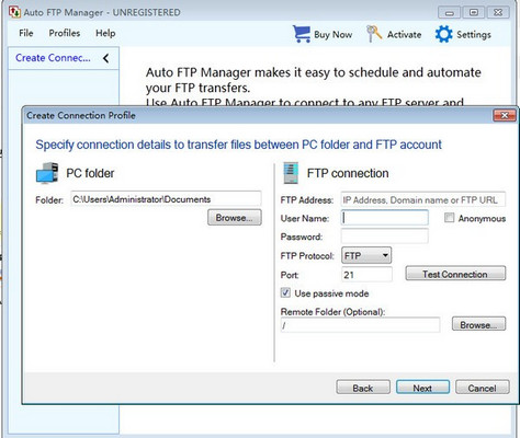 Auto FTP Manager 7.0.8.0